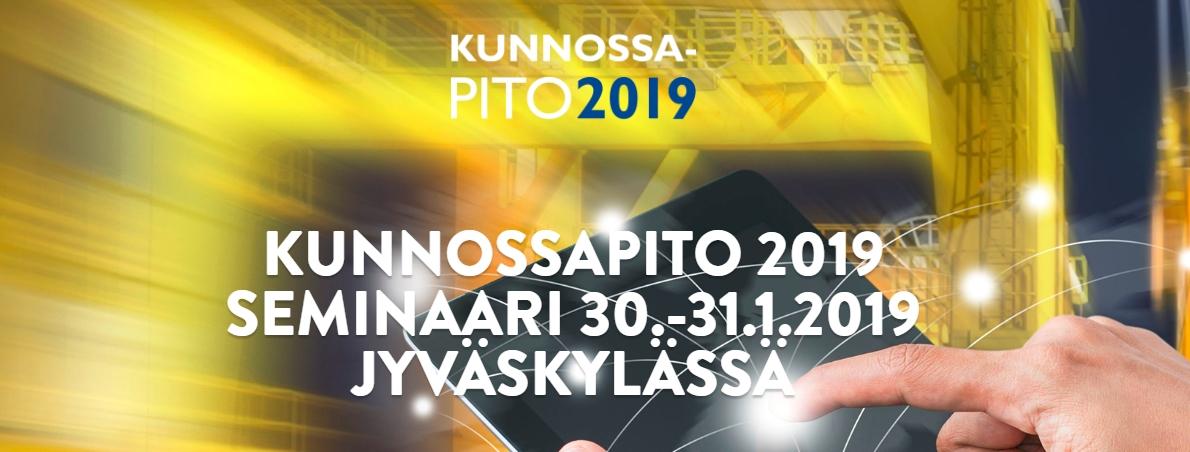 Kunnossapito 2019 seminaari